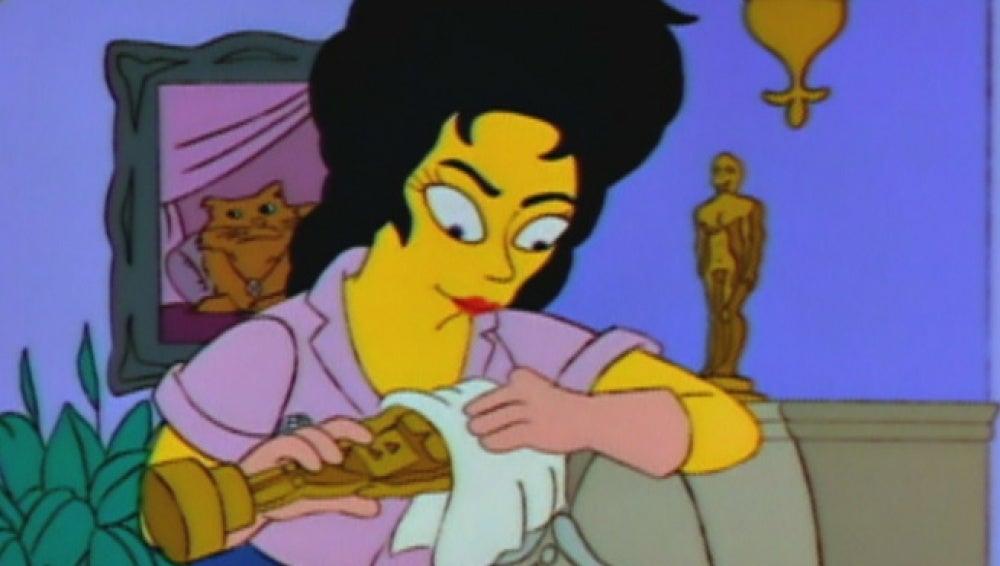 Elizabeth Taylor en Los Simpson