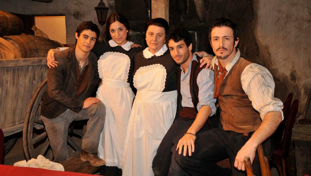 La familia Castañeda