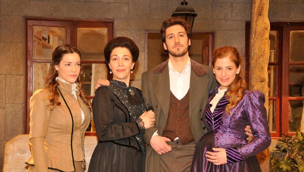 La familia Montenegro