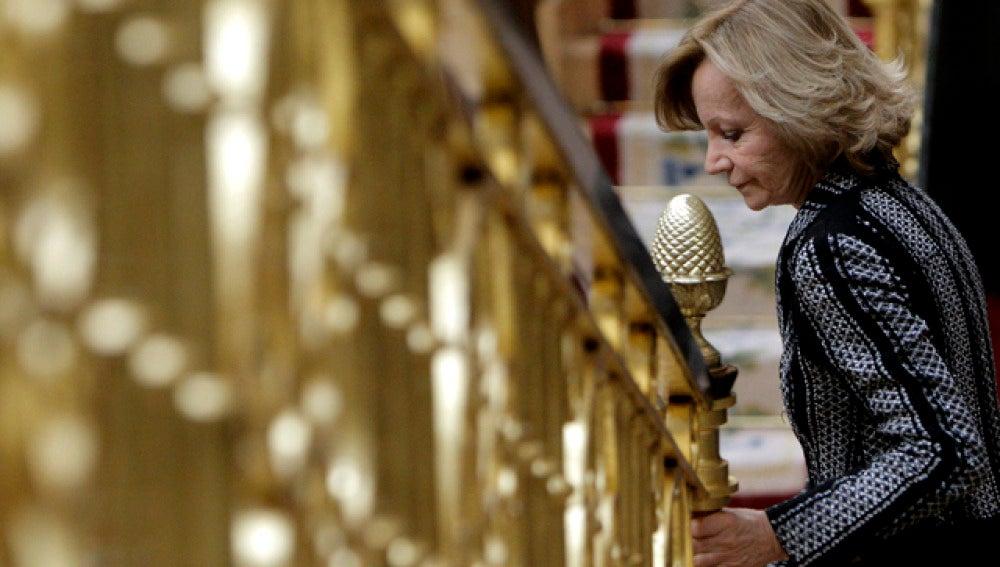 La vicepresidenta Salgado