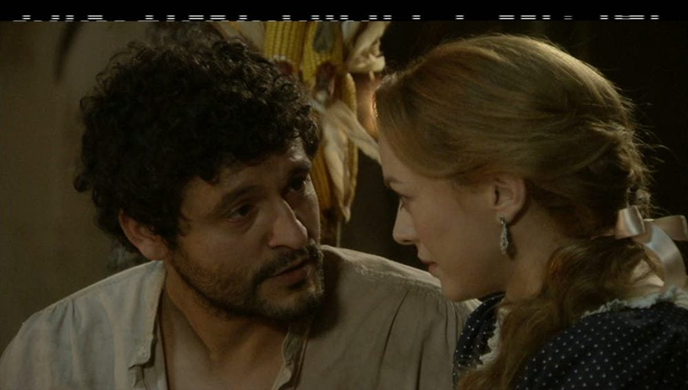 Roberto se declara a Sara