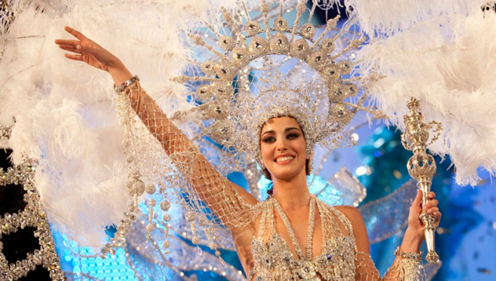 Laura Ojeda, Reina del Carnaval de Las Palmas