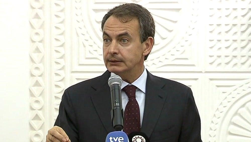 Zapatero de visita en Qatar