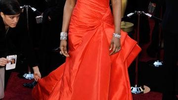 Jennifer Hudson vestida de Versace