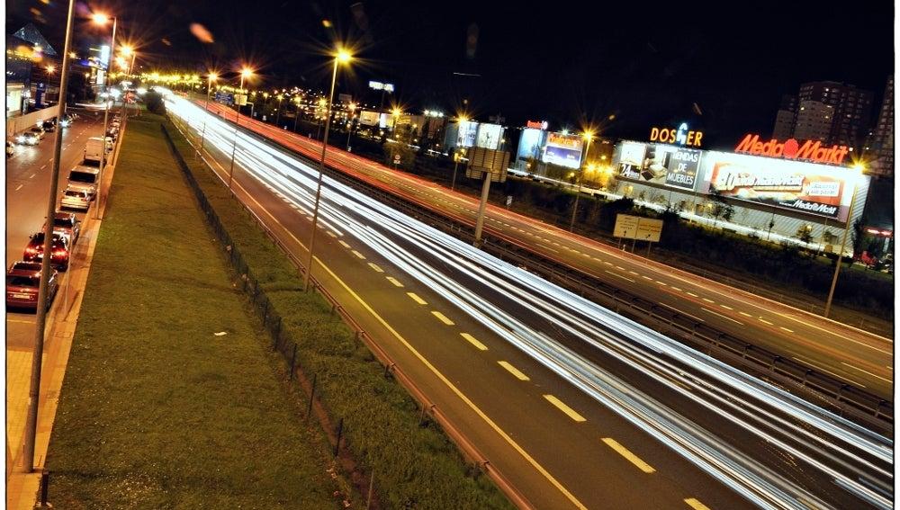 Carretera en Barakaldo