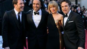 Bardem, Iñarritu y Mark Ruffalo