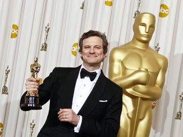 Colin Firth en la pasada gala de los Oscar