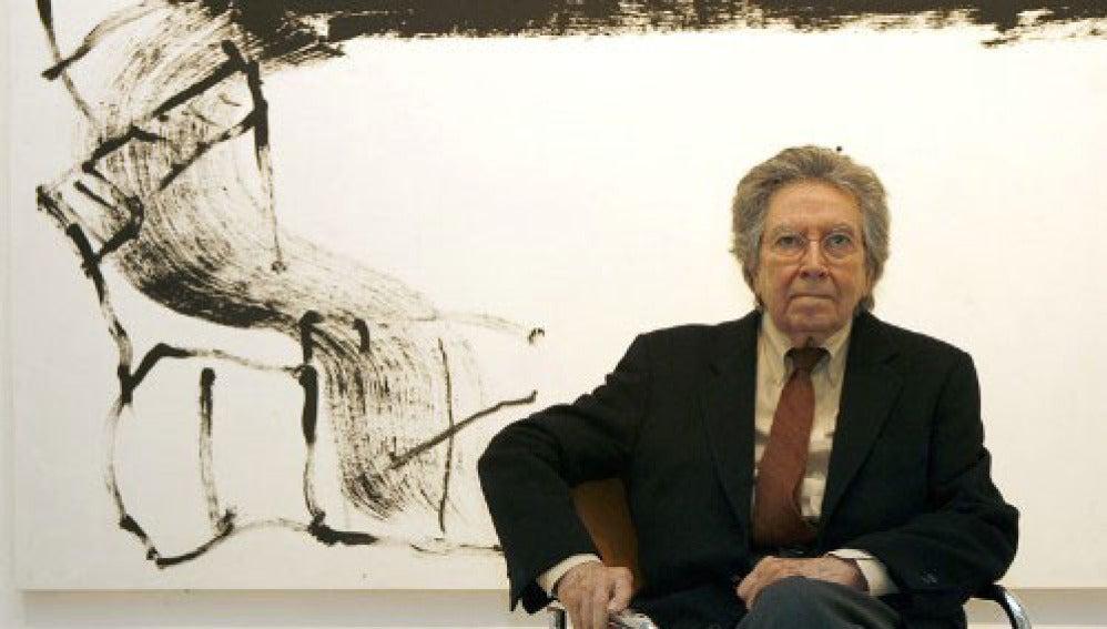 Antoni Tàpies, pintor español