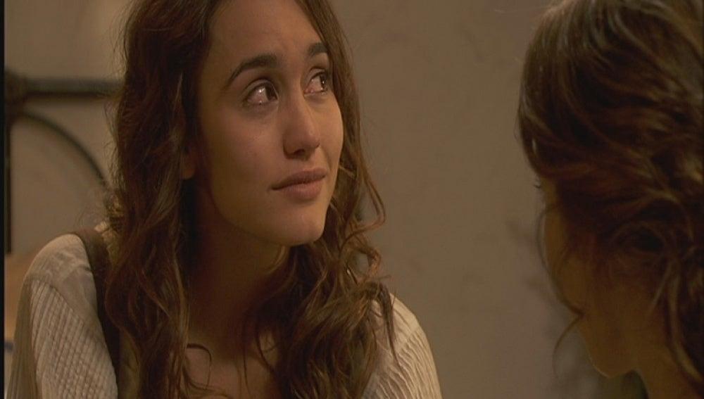 Pepa se confiesa con Emilia