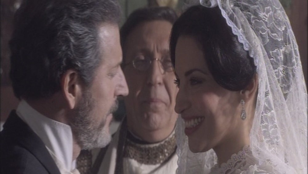 Martina y Germán se dan el 'sí quiero'