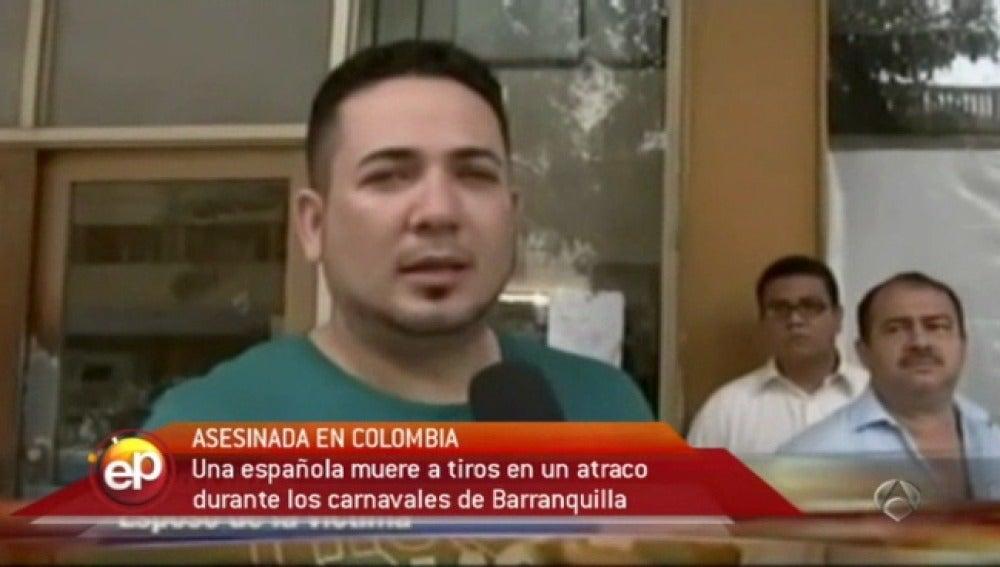 Asesinada una turista española