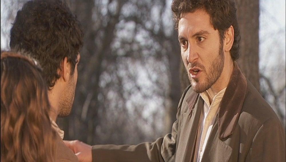 Tristán descubre el amor de Soledad y Juan