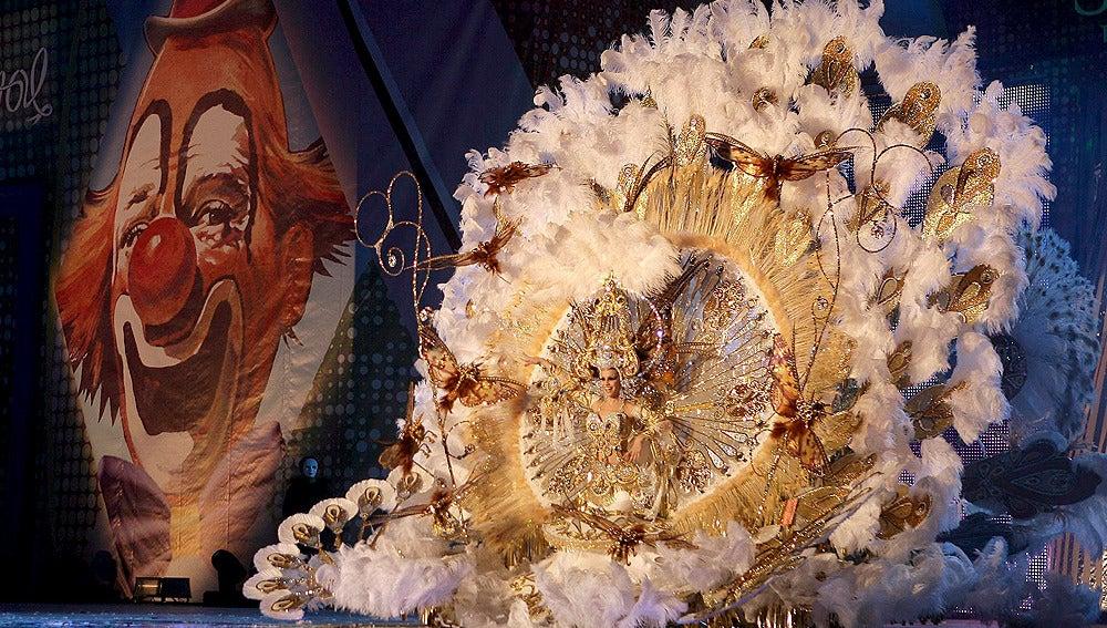 Naomi Cabrera, Reina del Carnaval del Tenerife