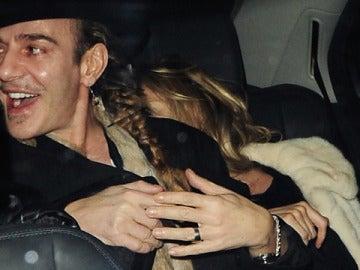 Galliano con Kate Moss