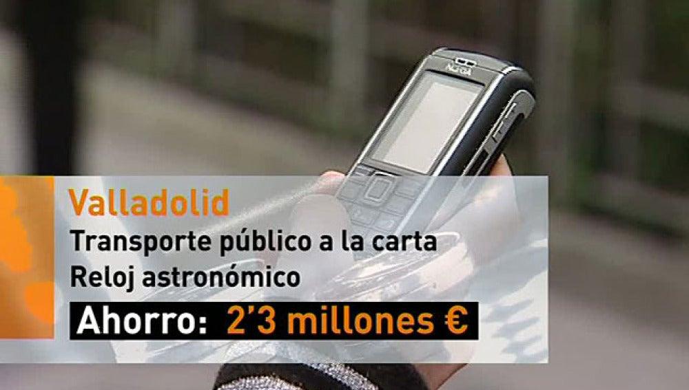 Medidas de ahorro energético en Valladolid