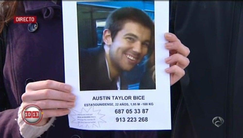 Americano desaparecido en Madrid