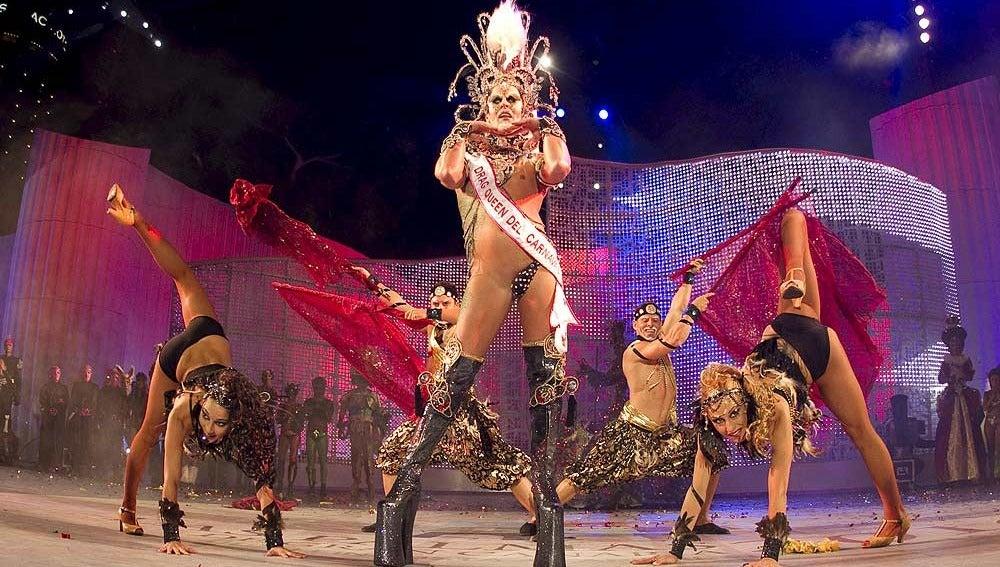 Séregon, drag queen de la anterior edición del carnaval de Las Palmas