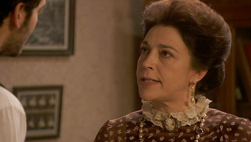 Francisca pide a Tristán que ingresen a Angustias