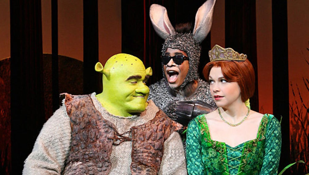 Musical de Shrek en Broadway