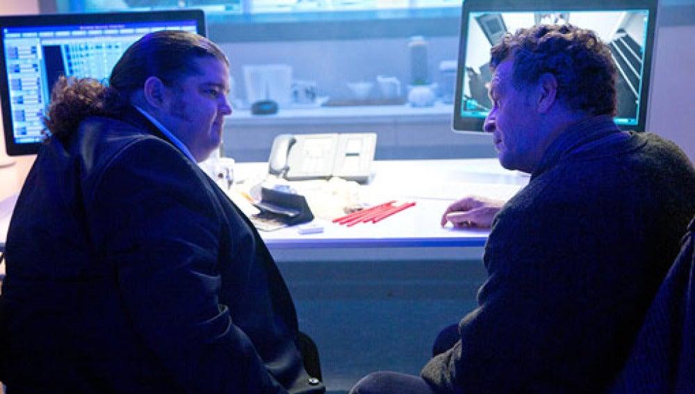 Imagen de García en 'Fringe'