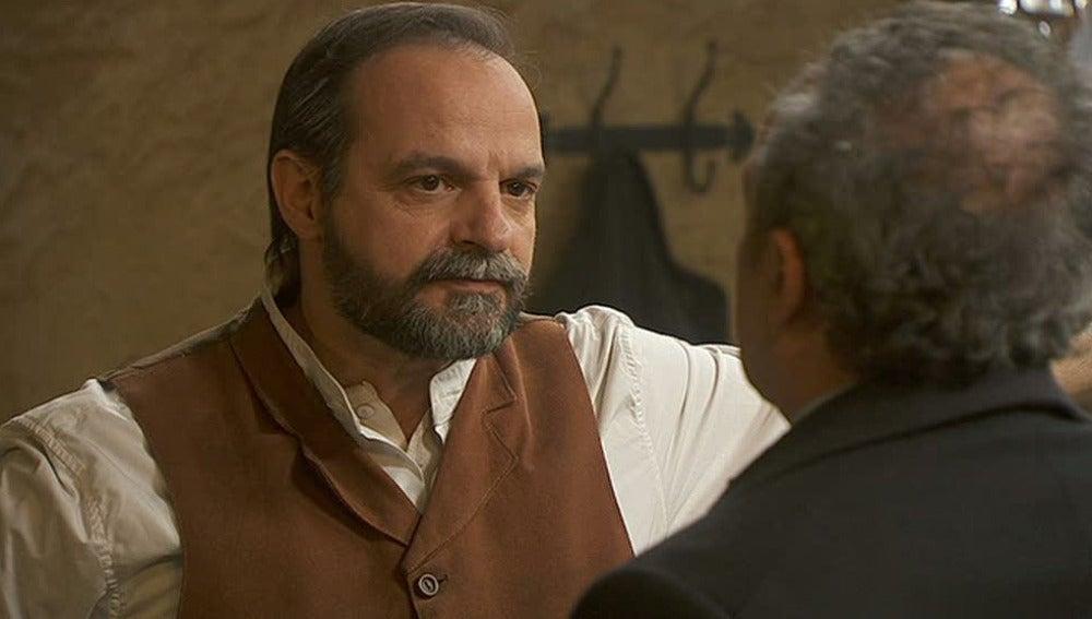 Pedro no quiere que Raimundo construya la posada
