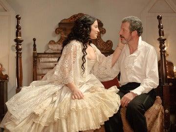 Martina y Germán en su noche de bodas