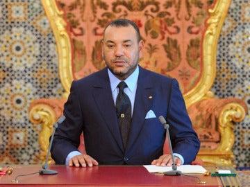 El rey Mohamed VI