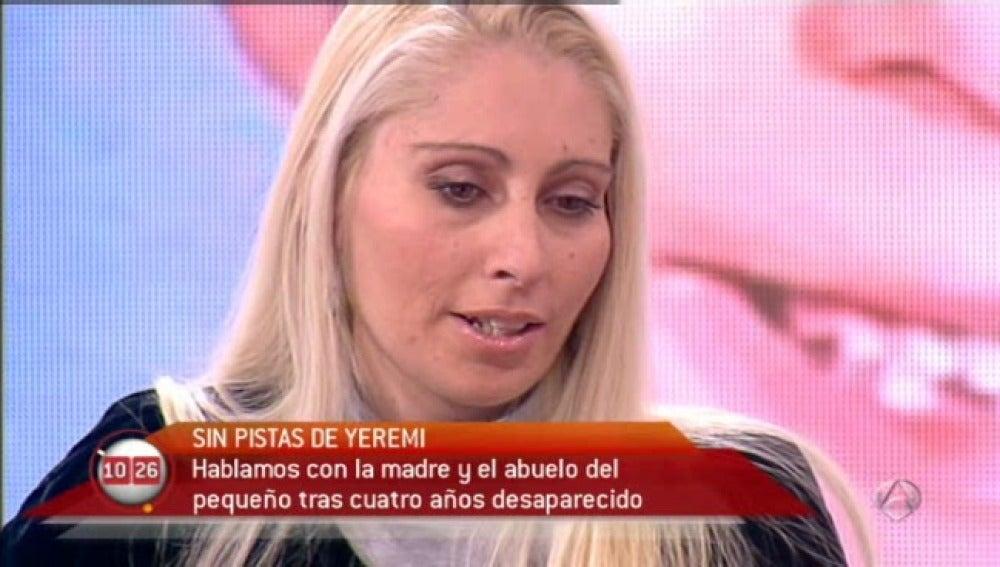Ithaisa, madre de Yeremi