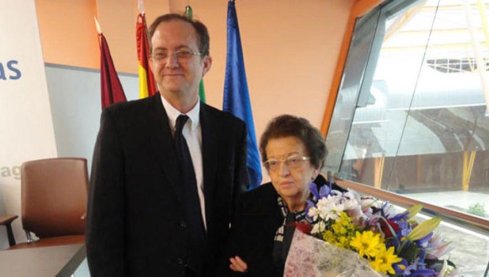 El empresario Javier Checa y Ana Banderas
