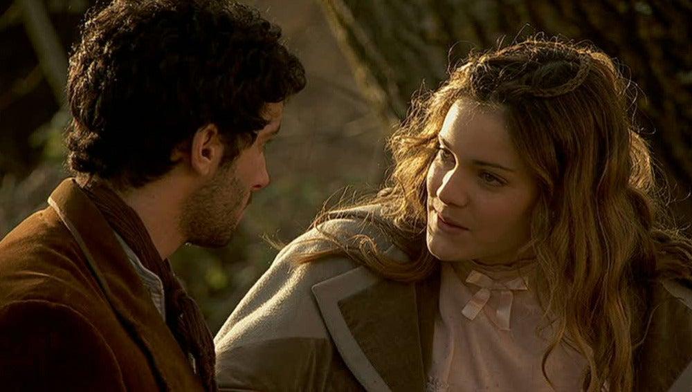 Juan y Soledad se despiden