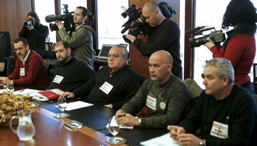 Los sindicatos de AENA, en la mesa de negociación