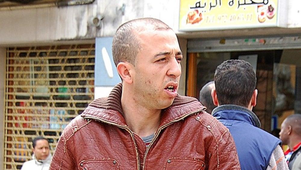 Mourad El Hassani, Delincuente marroquí expatriado