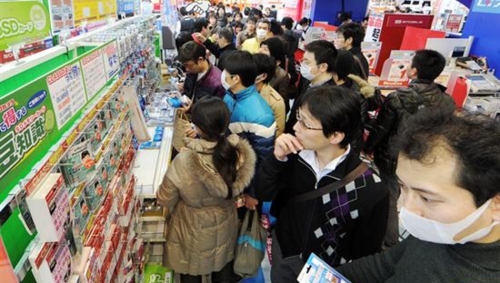 Saturación en los supermercados ante los posibles cortes de luz