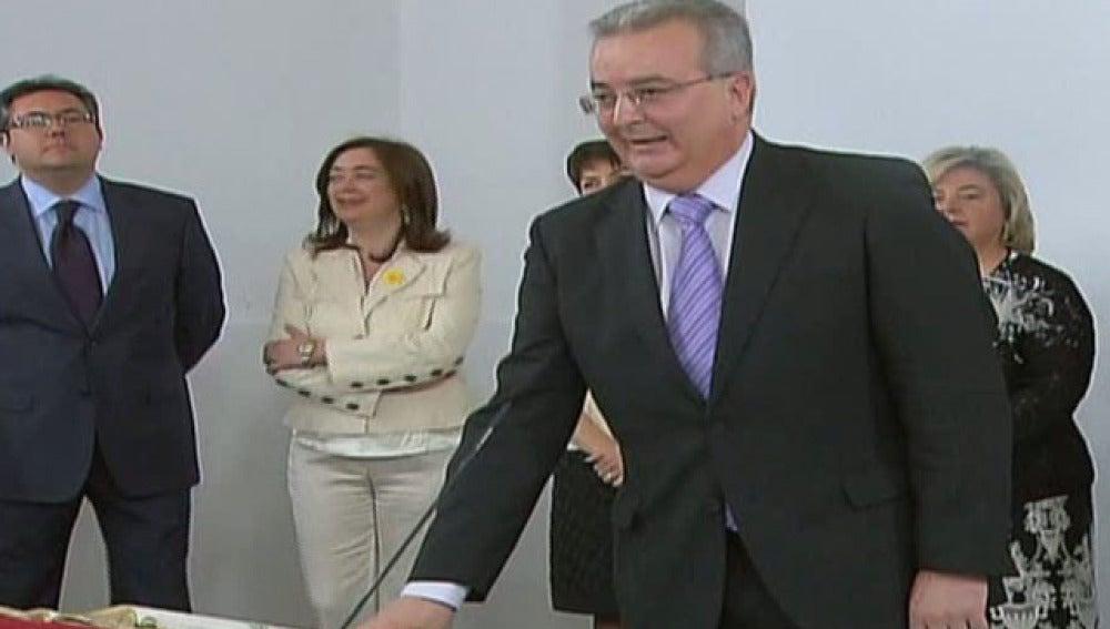 El exconsejero de Empleo de la Junta, Antonio Fernández