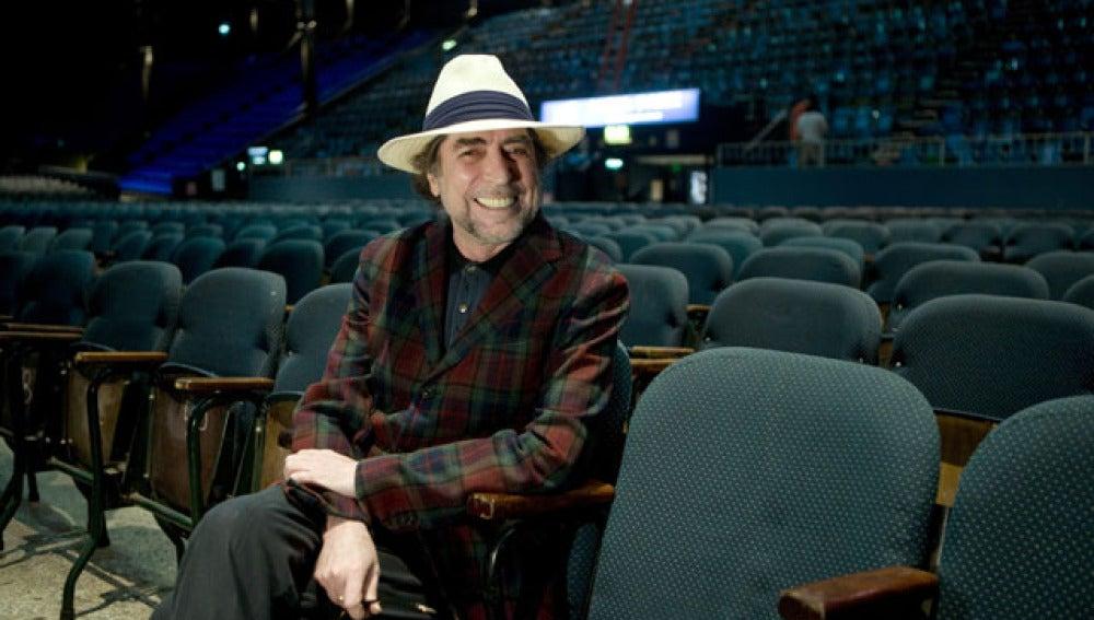 El cantautor en el estadio Luna Park de Buenos Aires
