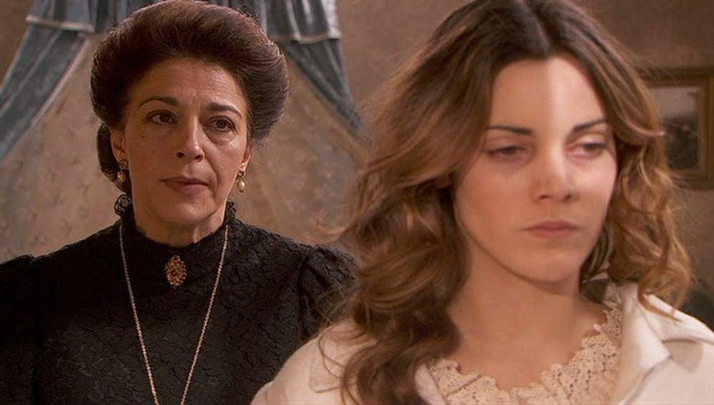 Francisca encierra a Soledad