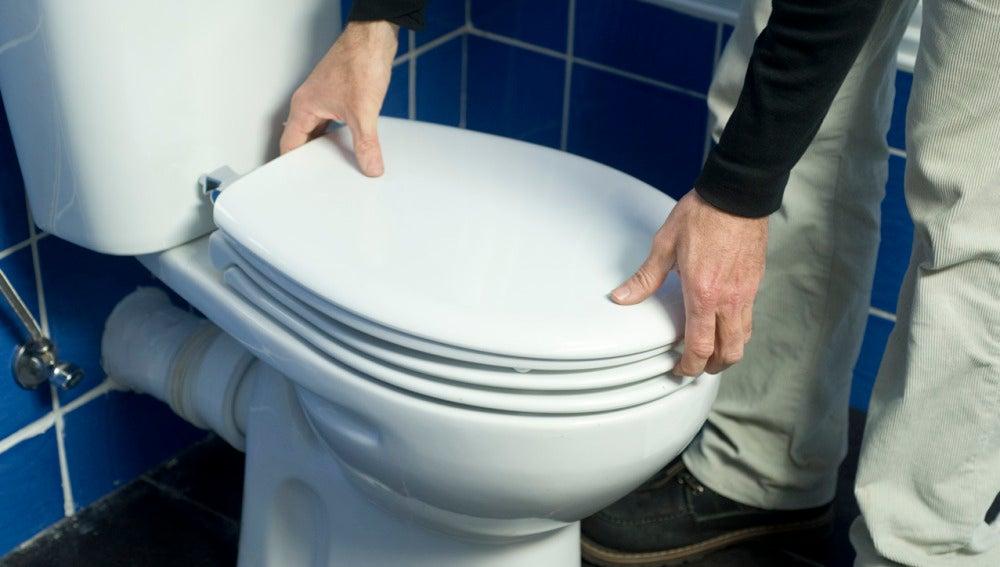 Cambiar la tapa del inodoro