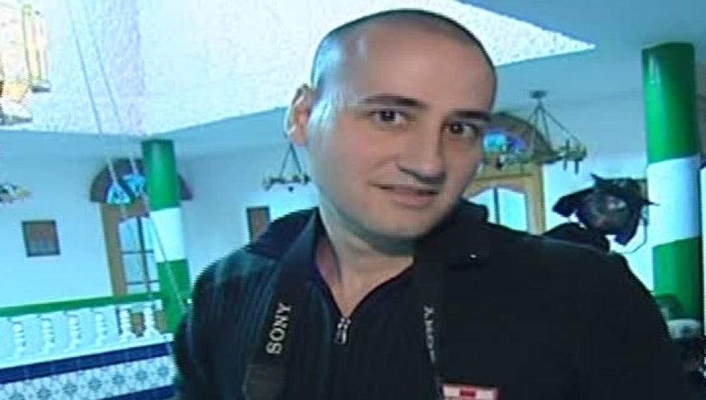 El director de cine porno Pablo Lapiedra