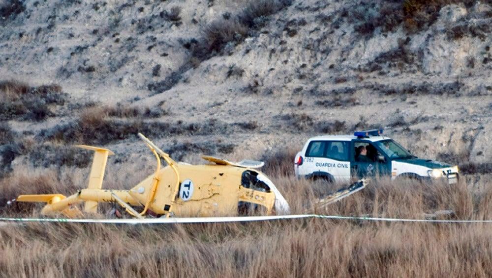 Un fallo técnico provocó el accidente de helicóptero