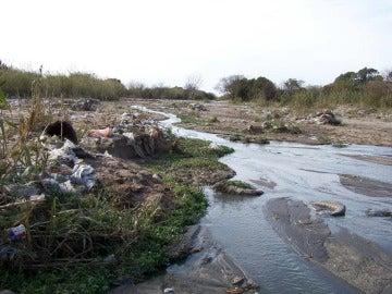 Un río contaminado