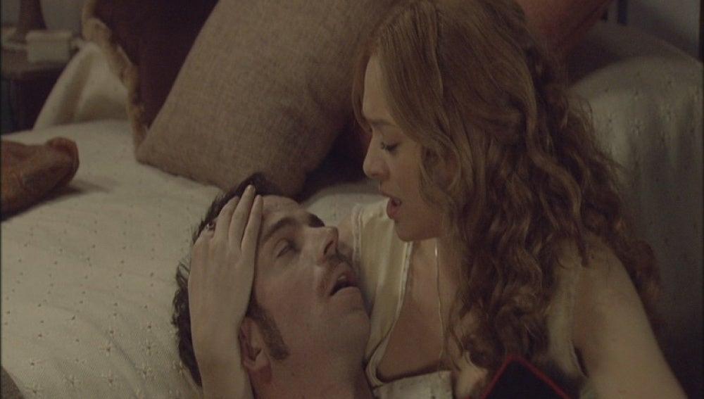 Miguel enferma repentinamente en brazos de Sara