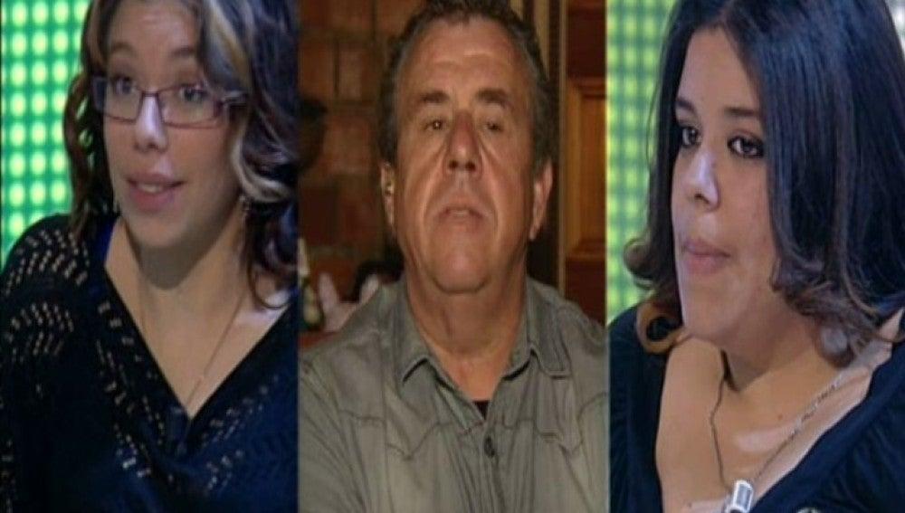 Juan, Iris y Nagore en El Diario