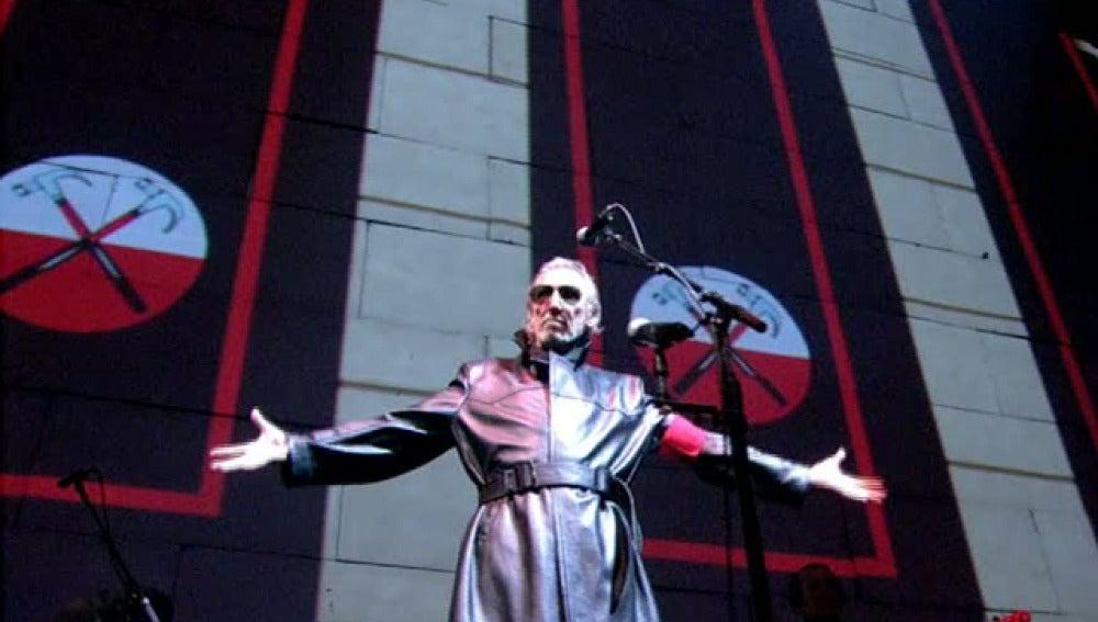 Roger Waters en uno de sus conciertos
