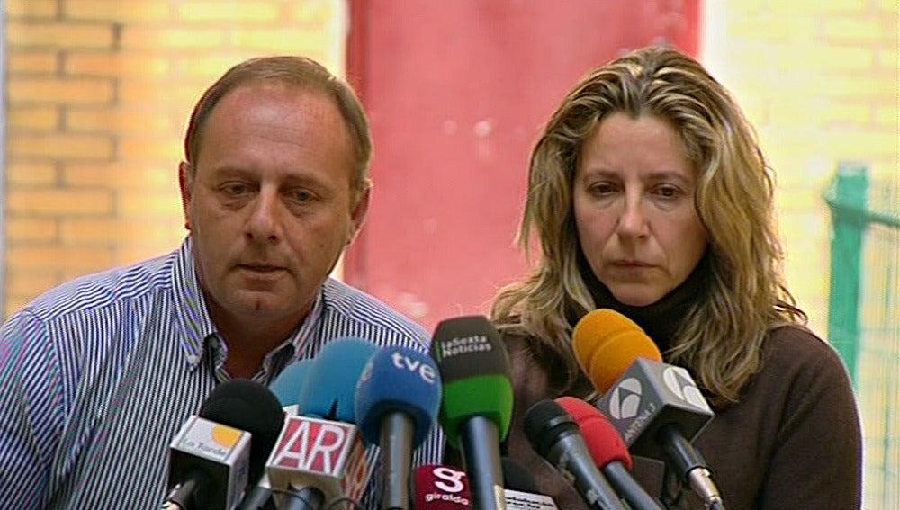 Antonio y Eva, padres de marta del Castillo