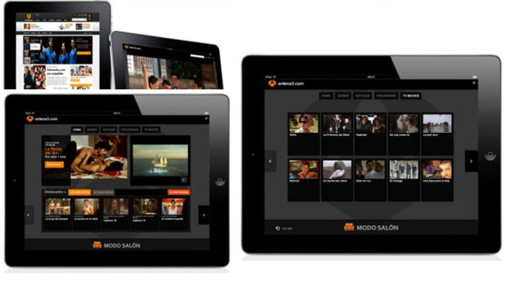 Antena 3, en tu iPad
