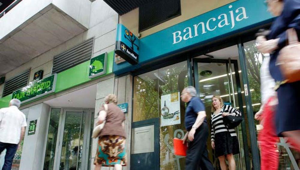 Caja Madrid y Bancaja
