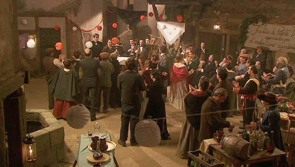 Las fiestas de Puente Viejo