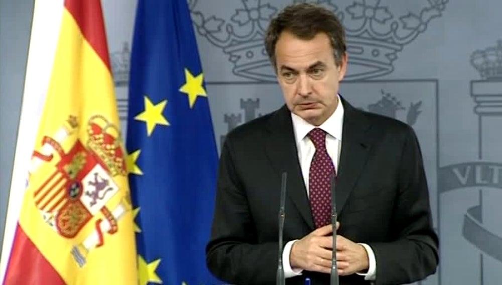Zapatero tras su reunión con los empresarios