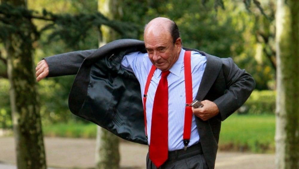 Emilio Botín presidente del Banco Santander
