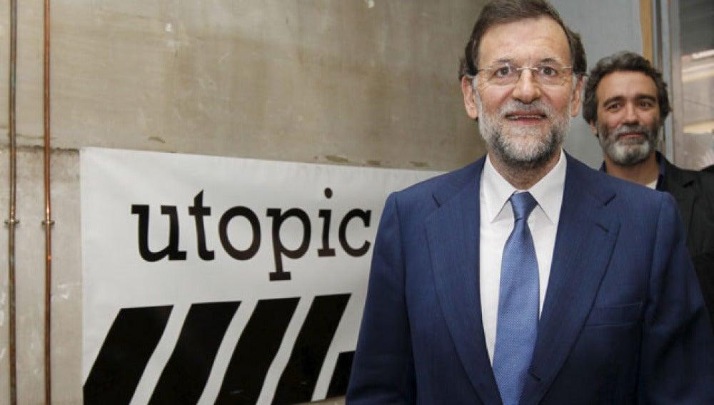 Mariano Rajoy, en su encuentro con las pymes